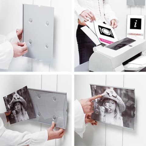 Koala cables, Bürozubehör, Signage-System mit den Ausstellern