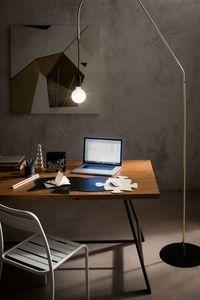 Puzzle, Schreibtisch-Pad und Maus-Pad in Leder