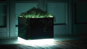Cubotti Light, Vasen mit Beleuchtung