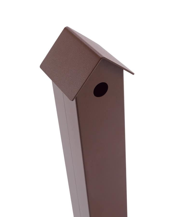stahl freiform aschenbecher f r outdoor idfdesign. Black Bedroom Furniture Sets. Home Design Ideas