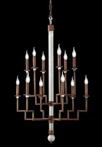 211112, Mittelalterlicher Design-Kronleuchter