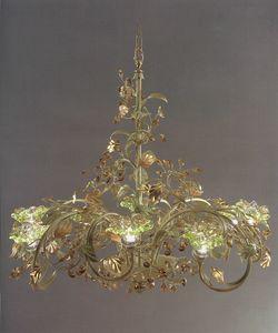 95218, Kronleuchter mit dekorativen Blättern