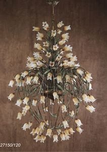 Art. 27150/120 Butterfly, Kronleuchter mit floralen Elementen