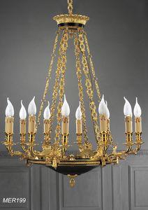 Art. MER 199, Luxuriöser klassischer Kronleuchter