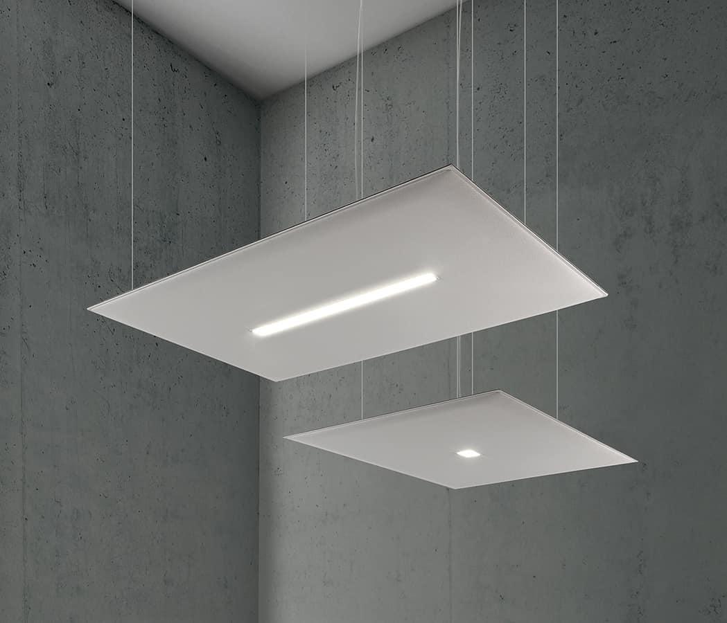 Oversize Lux, Schallabsorbierende Paneele mit integriertem LED-Licht