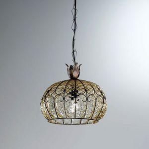 San Tomà Ms413-025, Klassische Lampe aus Ballonglas
