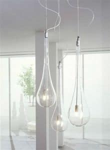 Splash, Tropfenförmige Lampen, für Wand- oder Decken
