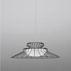 Sunrise Ls613-020, Lampe aus Metall und mundgeblasenem Glas