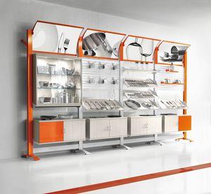 Contemporary - modulare Wohnwand für den Haushalt, Modulare Wanddisplays für Haushaltswarengeschäfte
