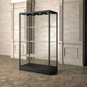 Museum MU/120FC, Vitrine mit Glasböden