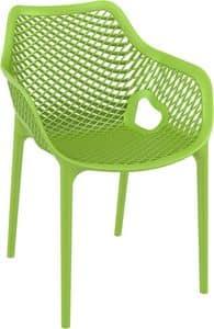 Alice - XL, Polypropylen Sessel, ideal für Outdoor- Bars und Restaurants