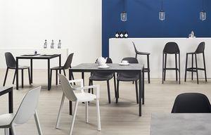 EVA P, Stapelbarer Sessel für Gärten