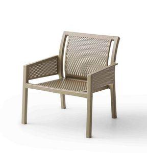 Grand Minush, Sessel mit breiter Sitzfläche für den Außenbereich