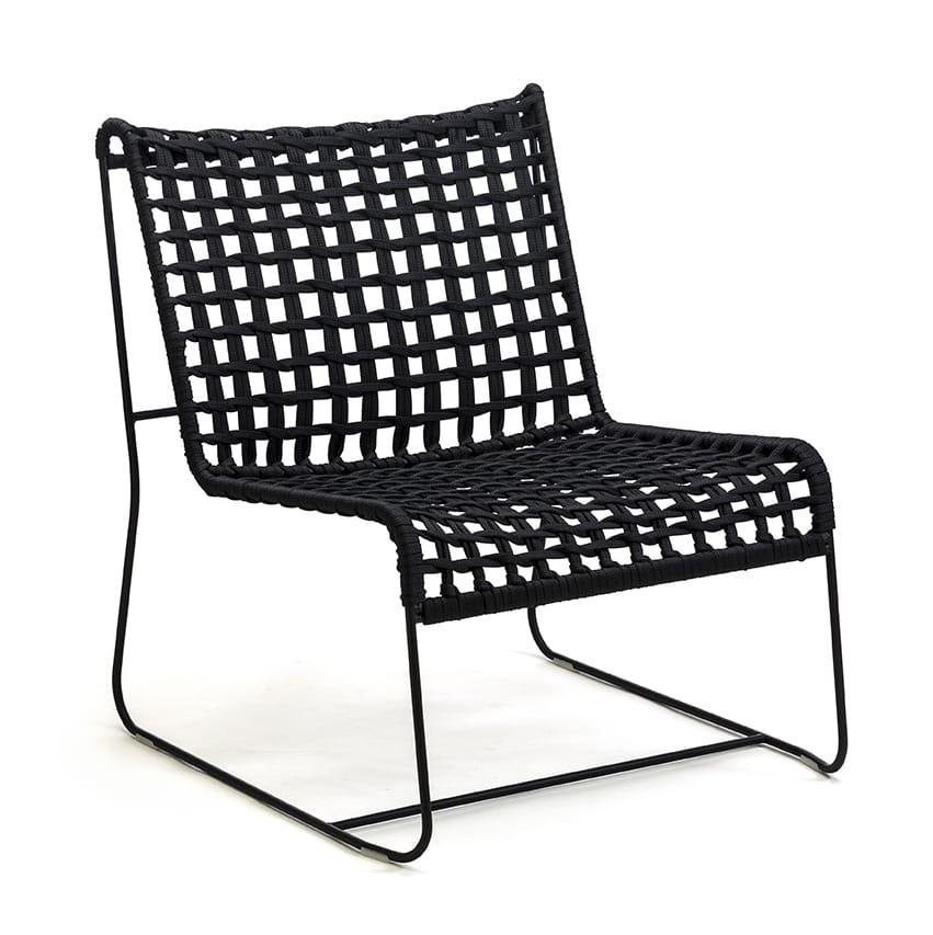 In/Out LO, Linear Lounge-Sessel, Sitz in gewebte Seil, für innen und außen