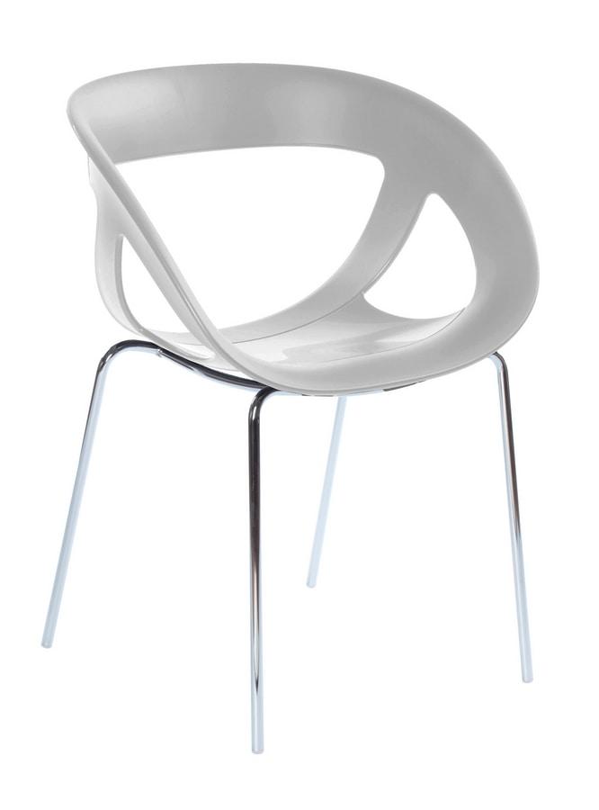 Moema 69, Moderne Sessel für Bar und eine Eisdiele