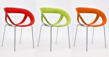Moema 76, Outdoor-Sessel mit transparenten Sitz