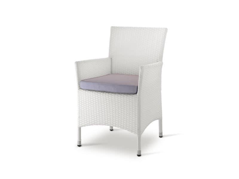 PL 768, Wicker Sessel, für Eisdielen und Restaurants