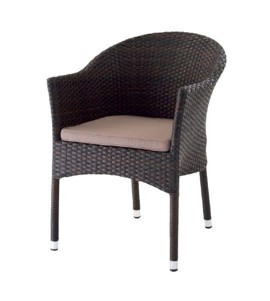 PL 776M, Moderne Sessel in gewebt PVC, für Bars