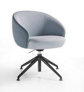 Botero Mignon, Sessel mit Spinnenbasis