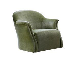 Cloe, Moderner Sessel mit Retro-Geschmack