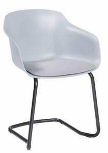 Dame CTL, Stuhl mit freitragender Basis