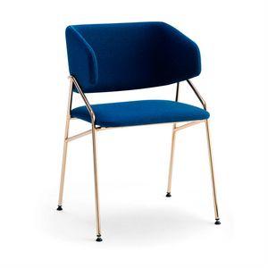 Line PT, Moderner Sessel mit umhüllender Rückenlehne