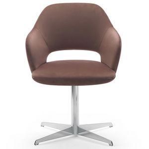 Vivian armchair, Sessel mit drehbarer Basis