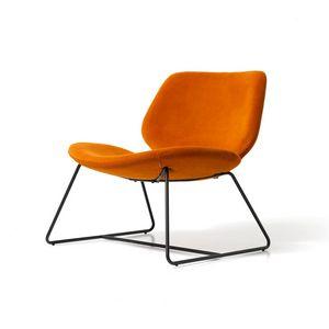 Eon Lounge Schlitten, Lounge Sessel für Büros und Hotels