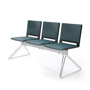 Multi Bank, Modulare Sitzbank, leichtes Design, für Warteräume