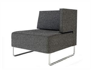 Urban 835 1BL 1BR, Modularer Sessel mit einzelner Armlehne