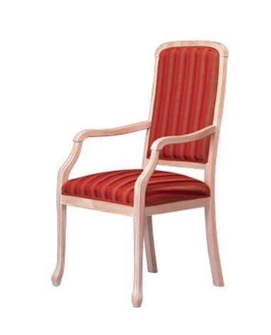 1002, Stuhl mit klassischen Linien für raffinierte Esszimmer