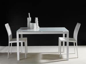 Art. 635 Majestic, Ausziehbarer Tisch, mit Paketverlängerung