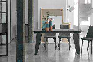 ZEUS 160 TA1A9, Ausziehtisch für modernes Wohnzimmer
