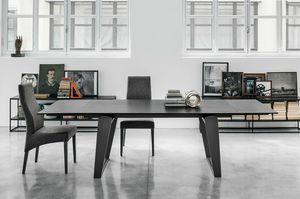 ZEUS 180 TA198, Moderner Tisch für Wohnzimmer