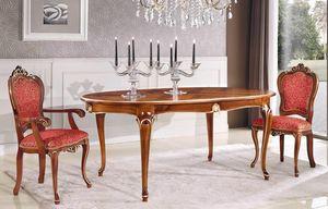 Art. 3032, Ausziehbarer ovaler Tisch