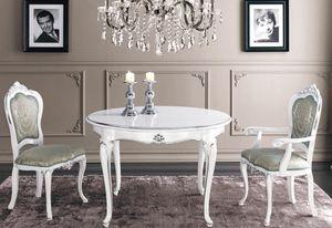 Art. 3182, Ausziehbarer runder Tisch