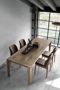 LEVANTE TA512, Ausziehbarer Holztisch