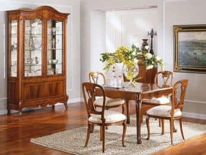 OLIMPIA B / Erweiterbar Platz der Tabelle, Extensible quadratischen Tisch, für elegantes Wohnzimmer