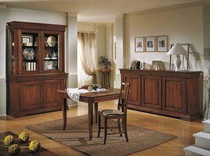 Palladio Tiche, Tisch mit klappbaren Verlängerungen