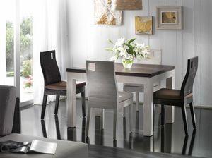 Tabelle Hotel, Ausziehbarer Tisch im Ethno-Stil