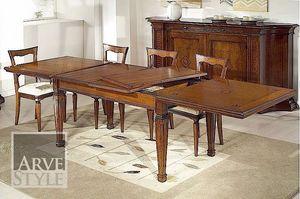 Tiziano Tisch, Klassischer Tisch mit Erweiterungen