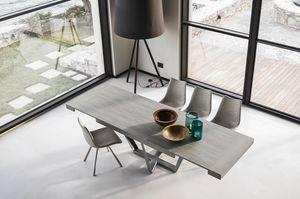APOLLO 180 TA1C3, Ausziehbarer Tisch mit modernem Design