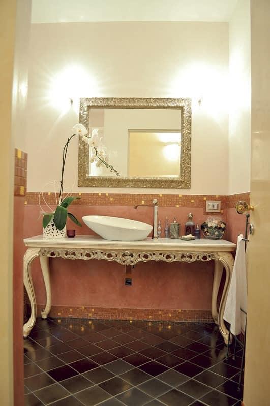 Art. 2015-B Sharon, Klassischer Badezimmer-Möbel, Marmor platte