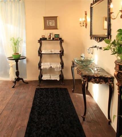 Art. 3100, Etagere aus Holz für Badezimmer, im klassischen Stil