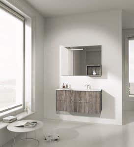 Singoli S 07, Zusammensetzung für das Bad fertig in Fichte