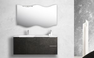 Singoli S 30, Badezimmerschrank mit integrierter Spüle