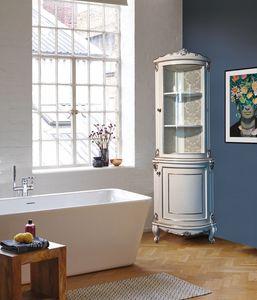 Art. 2763 Elodie, Eckbadezimmerschrank im klassischen Stil