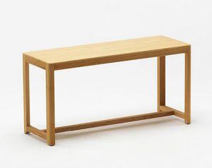 Seleri bench, Holzbank mit minimalem Design