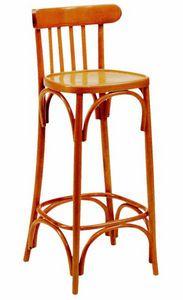 443 Milano, Hocker aus Holz für Kneipe