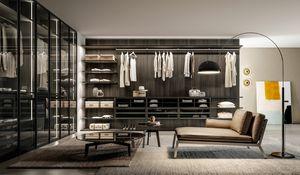 DEUS, Begehbarer Kleiderschrank mit modernem Design